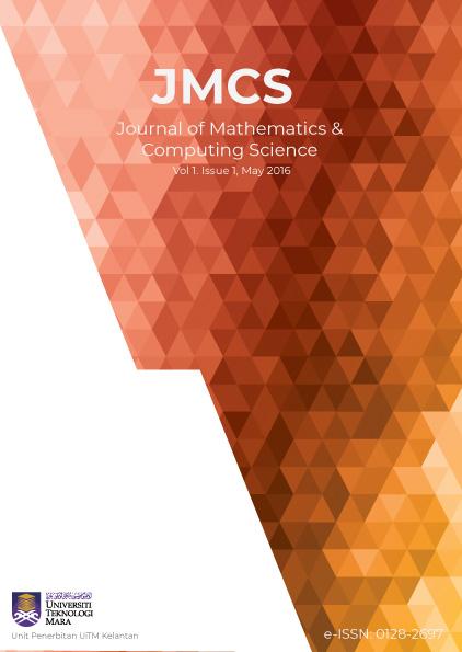 Journal of Mathematics & Computing Science Vol 1